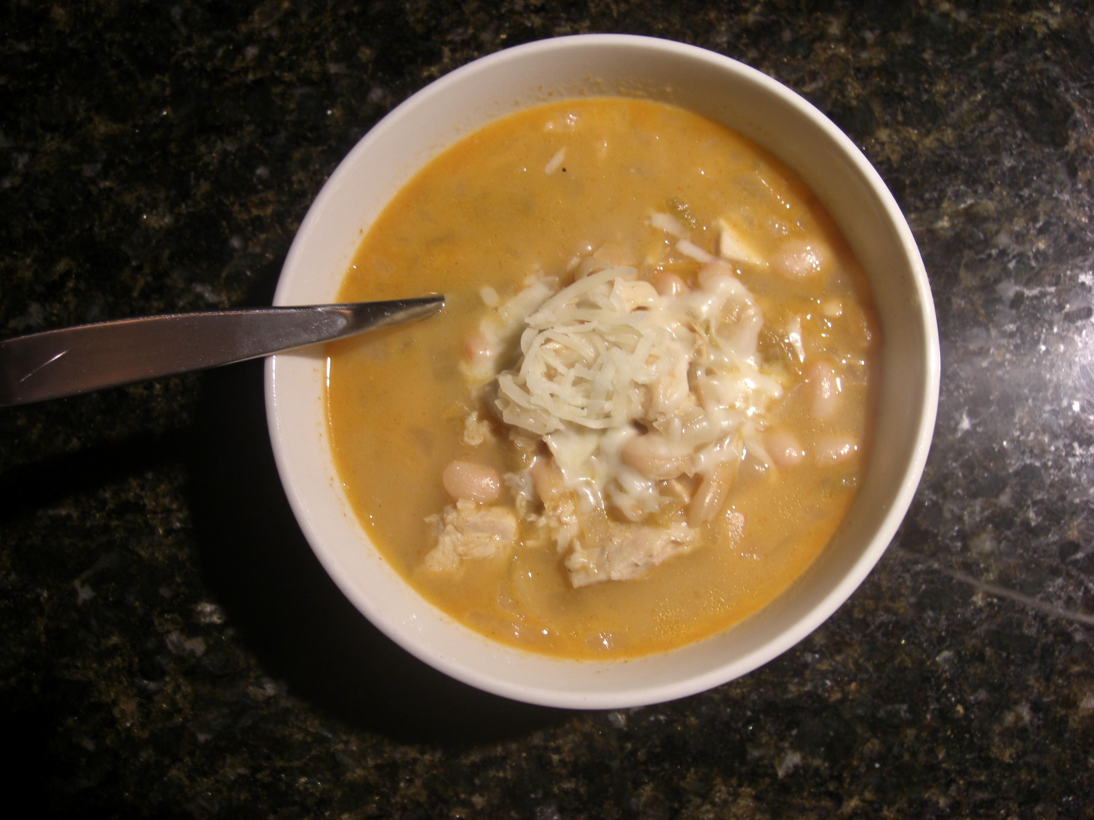 White Chicken Chili II