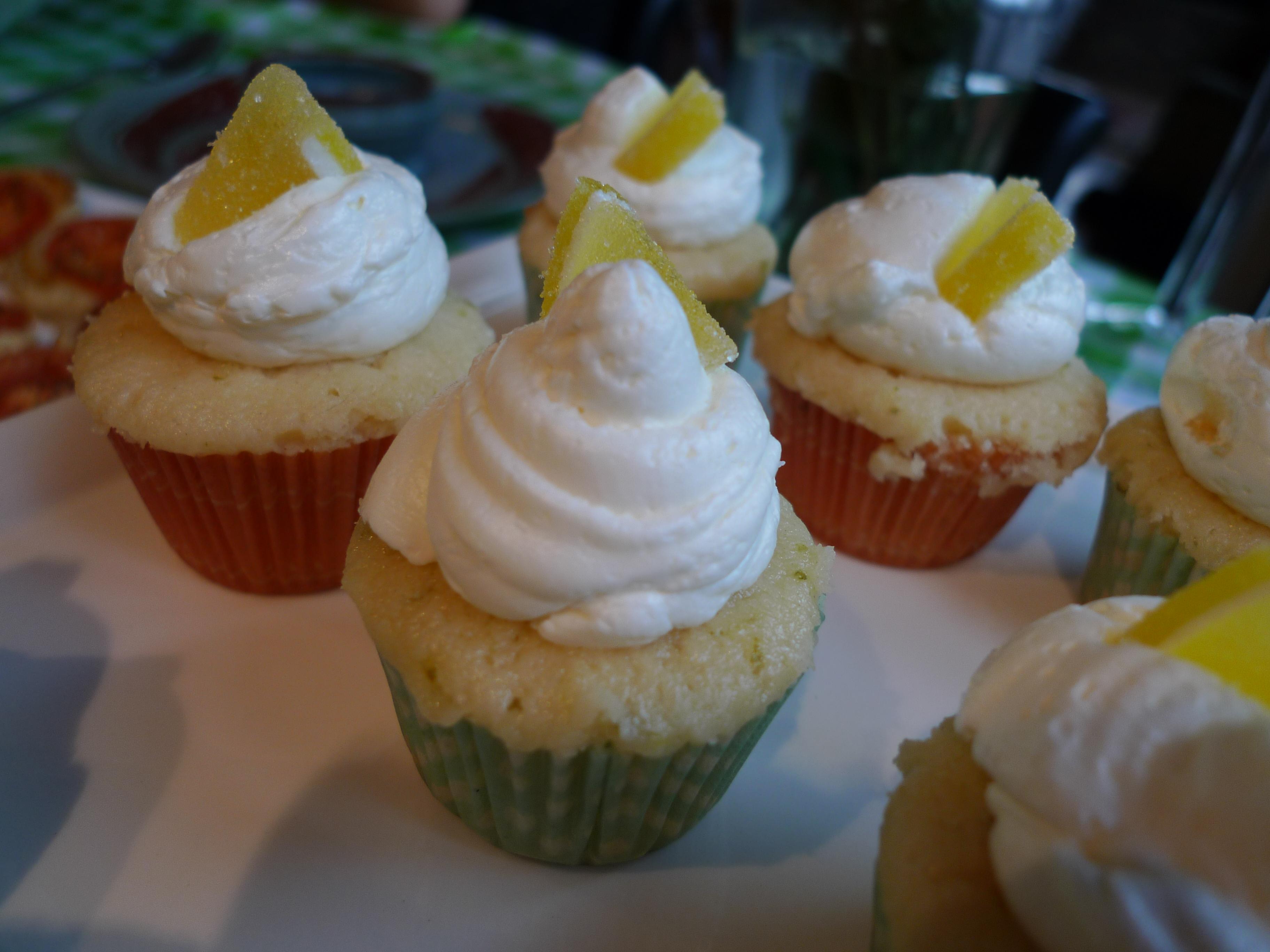 Margarita Cupcakes – Growling Tummy
